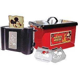 Disney Mickey Mouse Toaster & Bread Box