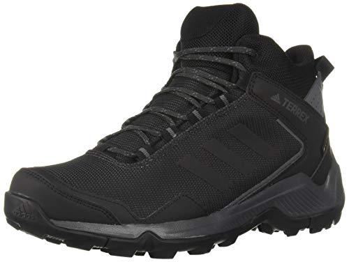 adidas outdoor Men's Terrex EASTRAIL MID GTX Hiking Boot, Carbon/Black/Grey Five, 9 D US