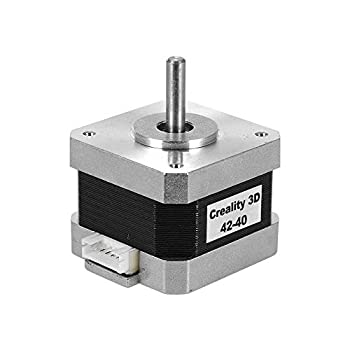 Creality 3D Printer Motors 42-40 Stepper Motor 2 Phase 1A 1.8 Degree 0.4N.M Stepping Motor for 3D Printer Extruder Compatible with CR-10 Ender-3 E-axis