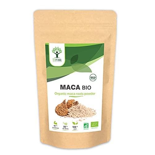 Maca Bio - Complément Alimentaire Bioptimal -...