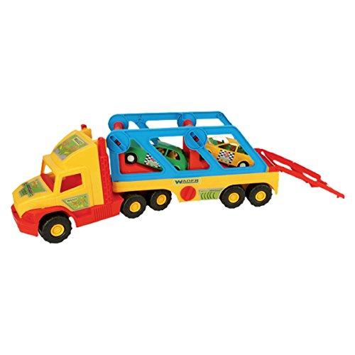 Wader - 2078198 - Super Truck - Transporteur De Voitures - Voiture De Sport