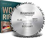 Bayerwald – Lama per sega circolare HM – Ø 500 mm x 4,0 mm x 30 mm | denti alternati (44 denti) | taglio grossolano e veloce – legna da ardere e materiali in legno | con fori combinati