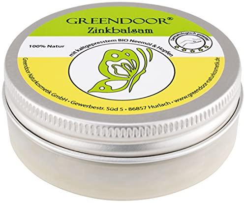 Anti Pickel Balsam Creme, natürliche Pickelcreme I Zink-Balsam mit BIO Kokosöl, BIO Neemöl,...