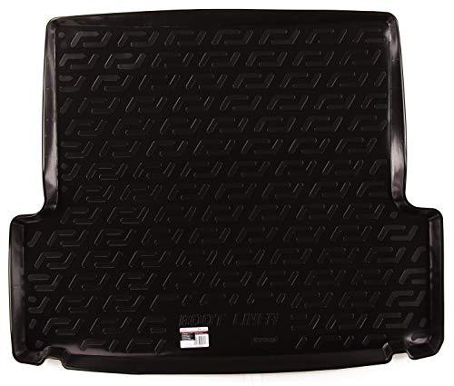 SIXTOL Auto Kofferraumschutz für die BMW 3-er Touring/Combi Maßgeschneiderte antirutsch Kofferraumwanne für den sicheren Transport von Einkauf, Gepäck und Haustier
