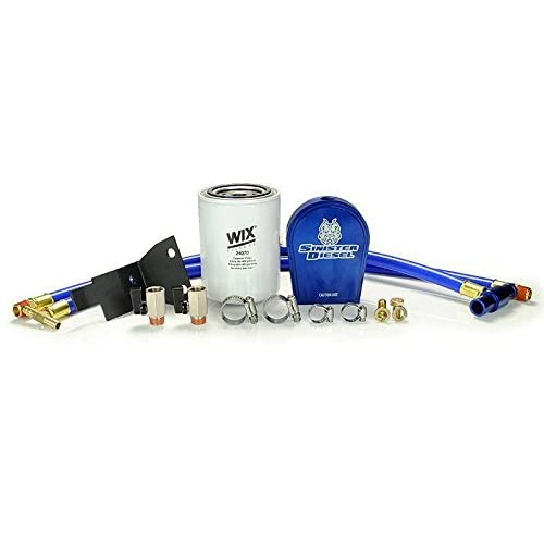 Coolant Filtration System by Sinister Diesel | for Ford 2003-2007 F-250,