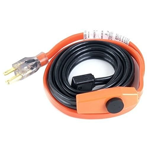Easy Heat AHB-115 15 Foot Water Pipe Freeze Protection Heating Cable Heat Tape K