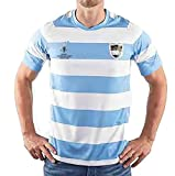 GWCASA Jersey de Rugby pour Hommes 2019 Coupe du Monde Argentine Rugby Polo Chemise, 2020/21 Argentine Home and Away Rugby Training Former 2019-3XL
