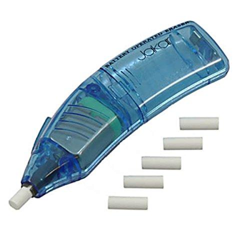 Jakar Blue Battery Operated Refill Eraser Pen Electric Art Craft Rubber...