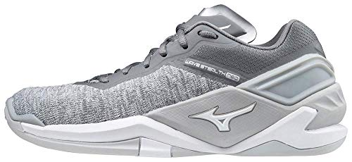 Mizuno Damen Wave Stealth Neo Handballschuh, Grey, 38 EU
