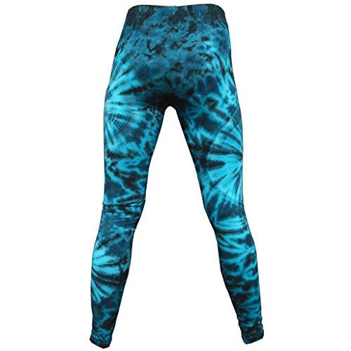 PANASIAM Leggings batik2, CS03 Blue Tones, M