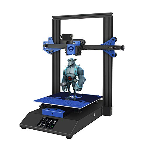 XLNB Fdm 3d Printer, Portable Desktop 3d Printer Diy Kit with 3.5-inch Touch Color Screen and 235×235×280mm Printing Size, for Beginners Kids Teens