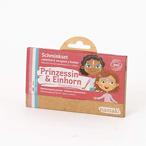 Namaki cosmetics Schminkset Prinzessin & Einhorn