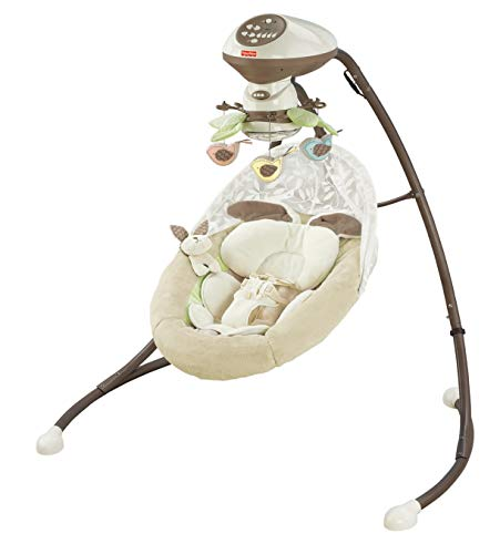 Fisher-Price Snugabunny Cradle 'N Swing with Smart Swing Technology by Fisher-Price