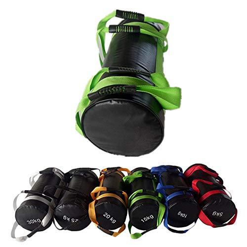 Sandbag Power Bag Saco Arena - 5-30 kg (11-66 LB) Bolsa de Arena Llena de Peso para Ejercicio, Levantamiento de Pesas y Entrenamiento Funcional, 1 PC (Sin Arena),20kg