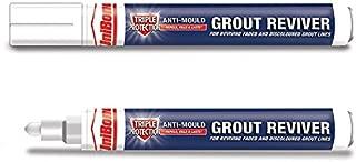 2x UniBond 1878160 7ml Triple Protect Grout Pen - White