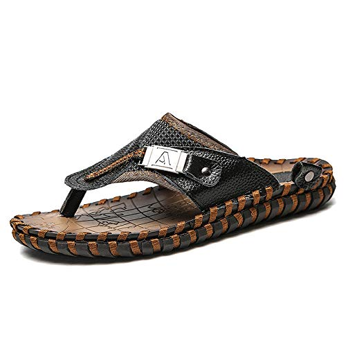 Sandalias de Dedo Cómodas para Hombres Chanclas,Zuecos de mujer hombre,Zapatos de la playa de veranochapas de personas antideslizantes casuales de gran tamañosandalias exteriores para exteriores_44