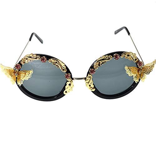 GWF Sonnenbrille cool schwarz europäischen und amerikanischen Models Catwalk Sonnenbrille Mode Trend Sonnenblende Sonnencreme Foto BrilleSonnenbrille cool schwarz europäischen und amerikanischen Model