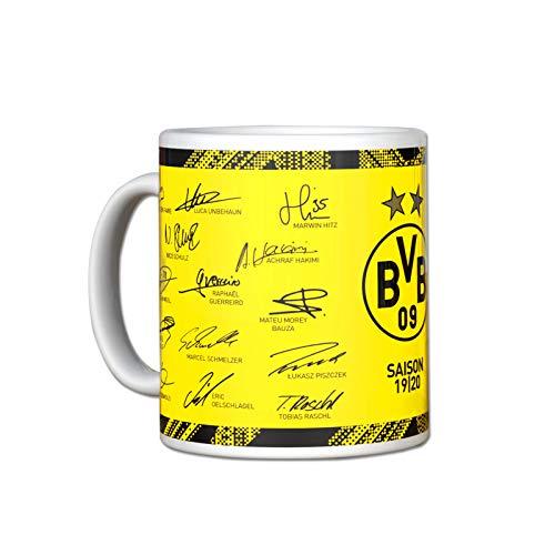 BVB-Unterschriftentasse 2019/2020 one size