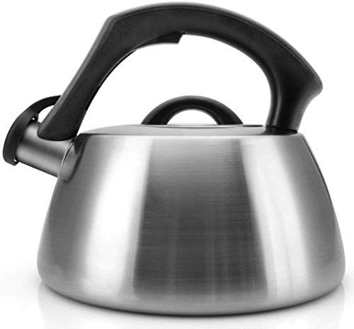 FEE-ZC Whistling Kettle, 304 Stainless Steel Kettle Induction Cooker Gas Universal Home Kitchen Automatic Whistle 3L