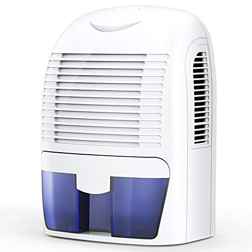 GENERIC Hysure 1500ml Air Dehumidifier 2200 Cubic Feet Compact and Portable Compatible for Damp Air