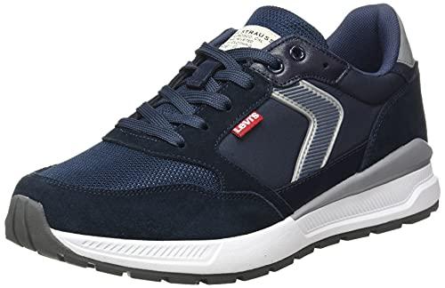 Levis Herren Oats Sneaker, Marineblau, 41 EU