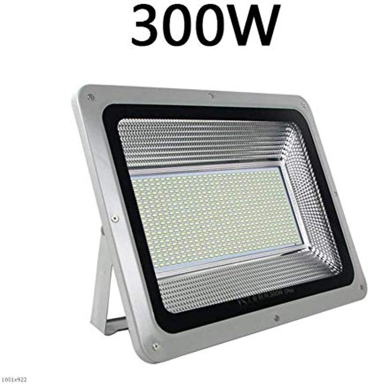 GLP LED-Leuchten im Freien leuchten helle wasserdichte Flutlichter für innen und auen lndliche Vorstadtbeleuchtung Straenlaterne Flutlichter spotbeleuchtung flutlicht (Größe   300W)