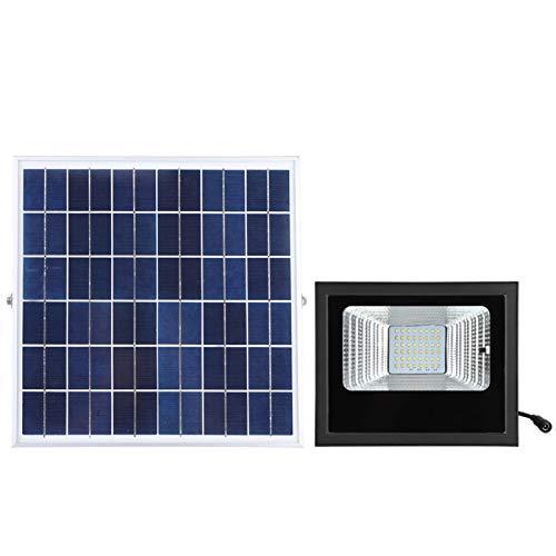 Luz de inundación solar LED, lámpara de pared solar 48pcs 2835 Cuentas LED brillantes para patio trasero para garaje
