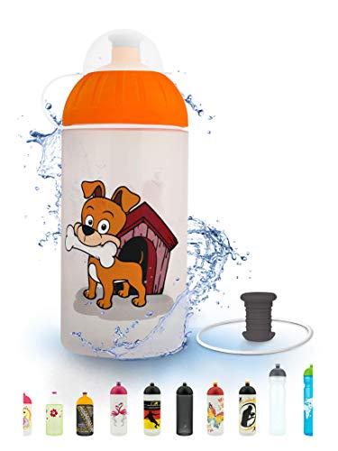 FreeWater Trinkflasche, 500 ml, Hund: schadstofffrei, spülmaschinengeeignet, auslaufsicher, langlebig