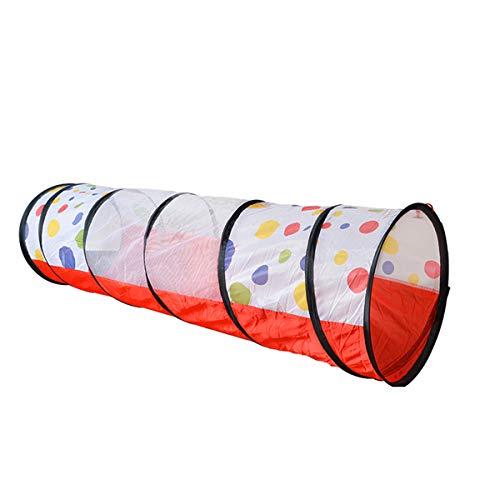NUB Tunnelzelt, Kinderspielzeug, Geburtstagsgeschenke, Alter 2 3 4 5 6 7 Jahre alt, geeignet für Innen- und Außen