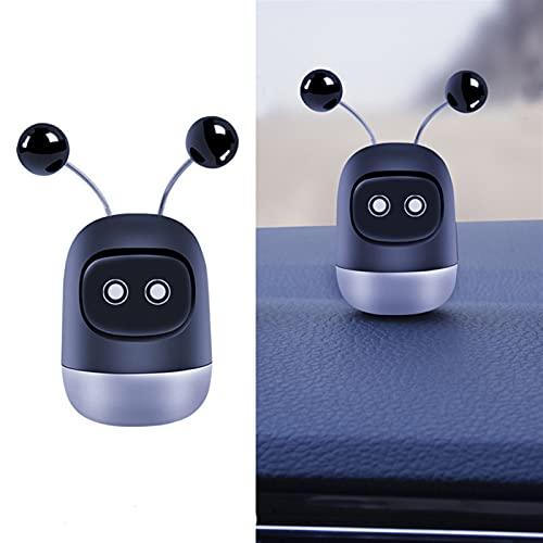 ASZX Coche Coche Creativo Mini Robot Air ventilación Clip Perfume Humor ventilación aromaterapia desodorizante Interior 723 (Appearance : Dull, Size : 29 * 60mm)