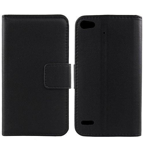 Gukas Design Echt Leder Tasche Für Medion Life E5006 MD 60227 5