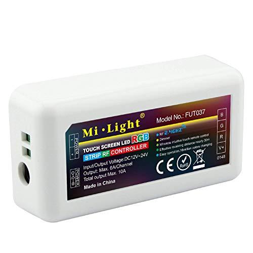Eurekaled - Mi light - Ricevitore RGB 12V / 24V 10A Wi-fi