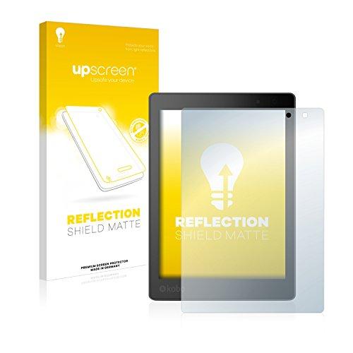 upscreen Entspiegelungs-Schutzfolie kompatibel mit Kobo Aura One – Anti-Reflex Displayschutz-Folie Matt