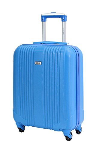 Suitcase cabin size 52 cm Alistair Airo – Special Company Low Cost – 4 Wheels, sky blue (Blue) - 9089 XS - Bleu ciel