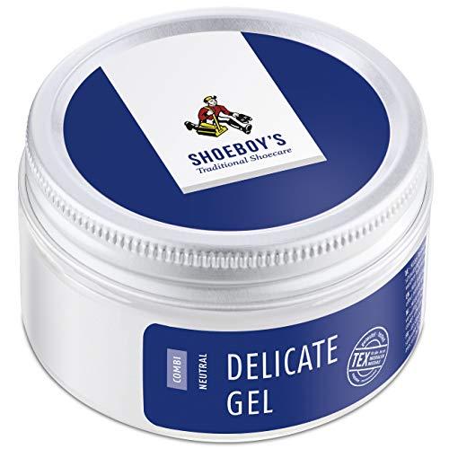 Shoeboy's Delicate Gel - mildes Reinigungs- und Pflegegel, 1er Pack (1 x 50 ml)