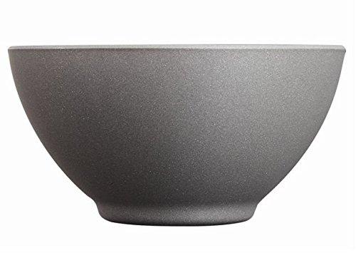 Luminarc 8012315.0 Loft Stony glazen schaal, 50 cl, 13,2 x 13,2 x 6,8 cm, antraciet