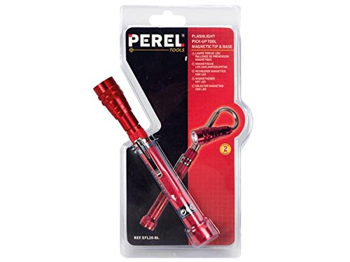 Perel efl20-bl linterna LED/extensor de recoger objetos magnético