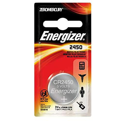 ENERGIZER Lot de 20 Blisters de 1 Pile Lithium CR 2450