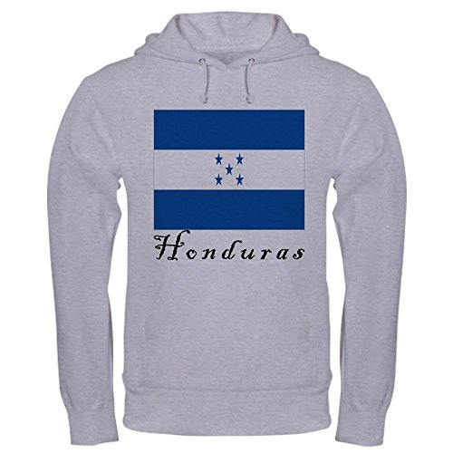 CafePress Honduras Hooded Sweatshirt Pullover Hoodie, Classic & Comfortable Hooded Sweatshirt Heather Grey