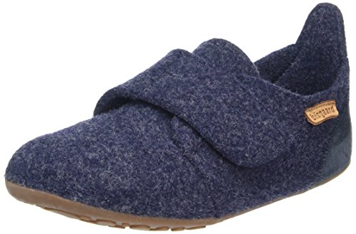 Bisgaard Unisex-Kinder 11203999 Slipper, Blau (20 Blue), 23 EU