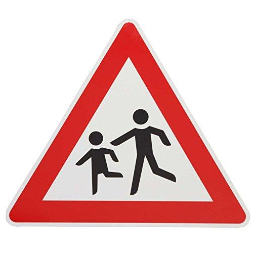 ORIGINAL Verkehrsschild ACHTUNG KINDER Nr. 136-10 Aufst. rechts Verkehrszeichen Schilder RAL Kinderschilder Kinderschild Warnschild spielende Kinder Verkehrsschilder Strassenschild Hinweisschild Gefahrenzeichen Schild Gefahrenschild