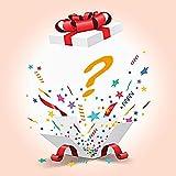 Caja de Regalo de la Suerte, artículo Misterioso: Contiene Cientos de Productos electrónicos y obsequios inesperados: Todos los artículos Son Productos nuevos: ¡Haz Hermosos obsequios!