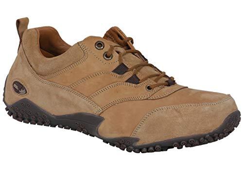 Woodland Men OGC 2706117_Camel_10 Leather Sneakers-10