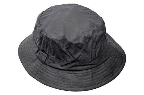 Walker & Hawkes - Uni-Sex Wax Bush Bucket Fishing Country Hat - Navy -...
