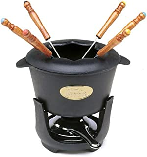 Norpro Cast Iron 10 Piece Fondue Set