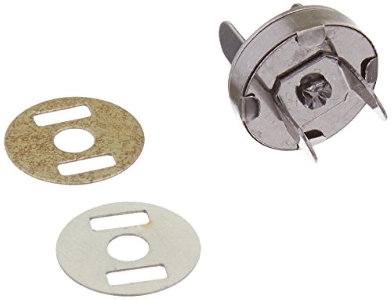 Sunbelt Fasteners MS14MM-BN Magnetic Purse Snap, 14 mm, Black Nickel