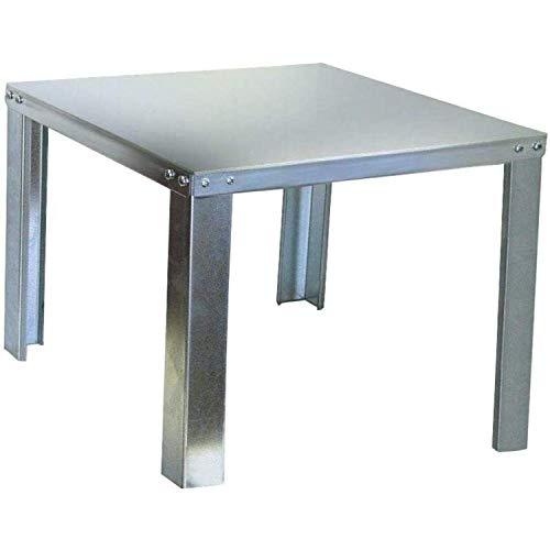 Holdrite 40-S-24-U QuickStand Water Heater Stand, 24-Inch x 24-Inch x 16-Inch, Aluminum