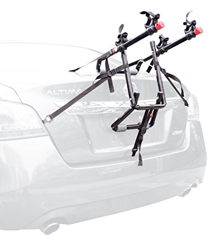 Allen Sports Deluxe 2-Bike Trunk Mount Rack, Model 102DN-R Colorado