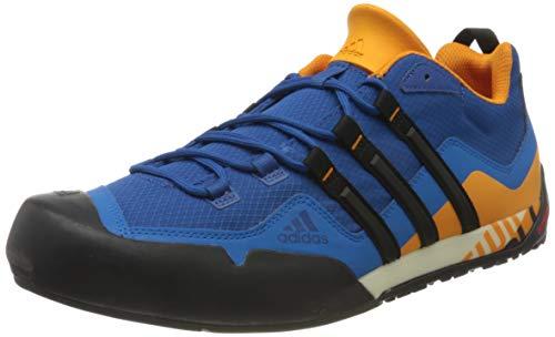 Adidas Terrex Swift Solo, Zapatillas de Deporte Unisex niño, Multicolor (Eqtazu/Negbás/Eqtnar 000), 38 EU