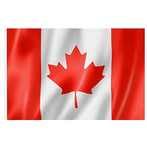 TRIXES Große Kanadische Flagge 5ft x 3ft Kanada Flagge
